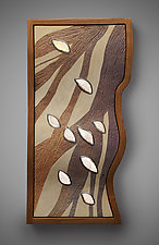 Wind Course by Aaron Laux (Wood Wall Sculpture)