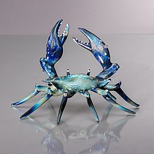 Crustacean by Bryan Randa (Art Glass Sculpture)