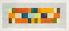 Multi Block 3 Bar Inset by Nancy Simonds (Giclee Print)