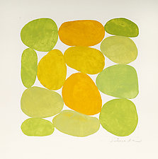 Yellows by Nancy Simonds (Watercolor Painting)