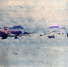 Islands in the Fog by Pamela Acheson Myers (Acrylic Painting)