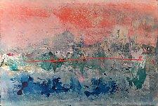 Catalina Sunset by Pamela Acheson Myers (Acrylic Painting)