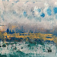 Dusk Over the Marshes by Pamela Acheson Myers (Acrylic Painting)