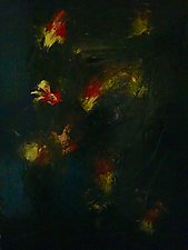 Supernovas by Pamela Acheson Myers (Acrylic Painting)