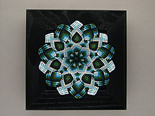 Winter Kaleidoscope by Joh Ricci (Fiber Wall Sculpture)