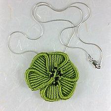 Blossom Necklace by Joh Ricci (Fiber Necklace)