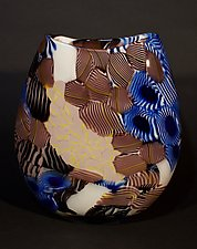 Stratum by James Friedberg (Art Glass Vessel)