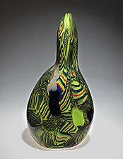 Figurative Stratum by James Friedberg (Art Glass Vessel)