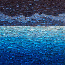 Sea and Sky No. 2 by Steve Bogdanoff (Acrylic Painting)