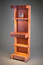 Lighted Stand-Up Desk by Robert Krantz (Wood Desk)