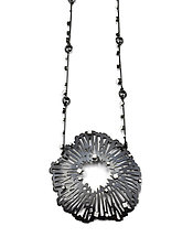 Large Shattered Pendant by Joanna Nealey (Silver Necklace)