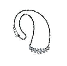 Crosshatch Necklace by Joanna Nealey (Silver Necklace)