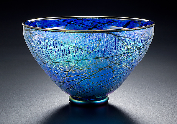 Blue Lustre Bowl