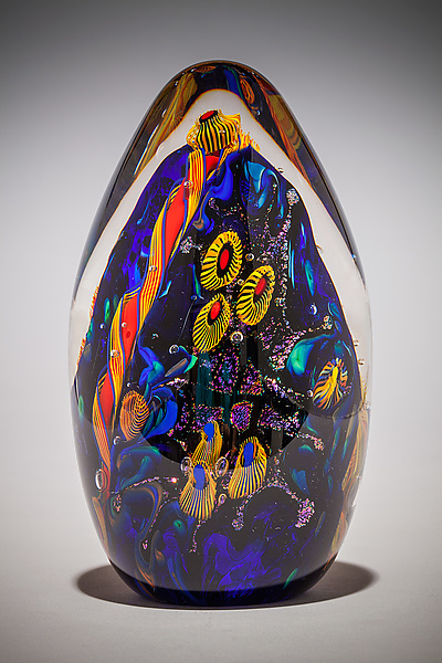 Undersea Adventures Egg Paperweight