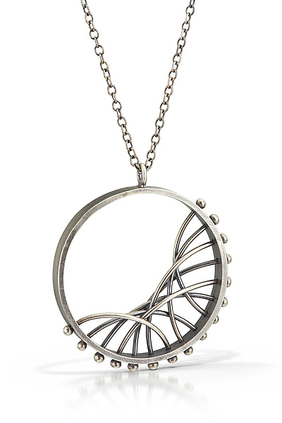 Diagonal Arc Necklace