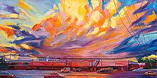 Burst by Bonnie Lambert (Oil Painting)