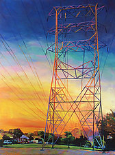 Firepower by Bonnie Lambert (Oil Painting)