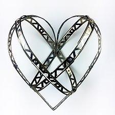 Cross My Heart by Barbara Gilhooly (Metal Wall Sculpture)
