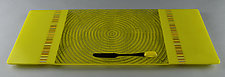 Large ColorCentric Yellow Serving Plank by Terry Gomien (Art Glass Platter)