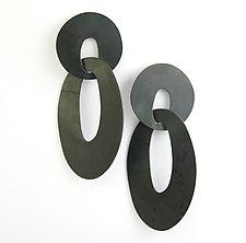 Long Drop Earrings by Maia Leppo (Steel Earrings)
