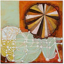 Spinner Network by Barbara Gilhooly (Acrylic Painting)