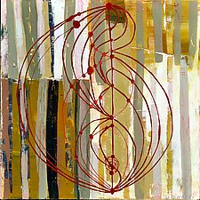 Patterns of Sharing II by Barbara Gilhooly (Acrylic Painting)