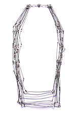 Line Segments Necklace by Meghan Patrice  Riley (Steel Necklace)