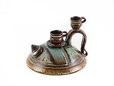 Earthtones Teapot by Carol Tripp Martens (Ceramic Teapot)