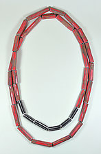 Infinite Wrap Necklace by Lindsay Locatelli (Polymer Clay Necklace)