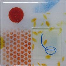 Half Full by Martha Pfanschmidt (Art Glass Wall Sculpture)