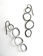 Hopscotch Earrings by Grace Stokes (Silver Earrings)