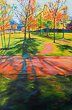 LA Autumn by Bonnie Lambert (Oil Painting)