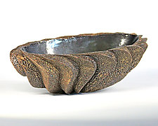 Small Oval XII by Emil Yanos (Ceramic Bowl)