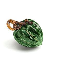 Harvest Pumpkins by Leonoff Art Glass  (Art Glass Sculpture)