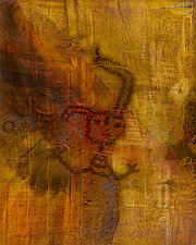 Petroglyph Man I by Michael Protiva (Giclee Print)
