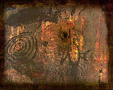 Petroglyph Man II by Michael Protiva (Giclee Print)