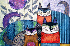 Catitudes by Penny Feder (Giclee Print)
