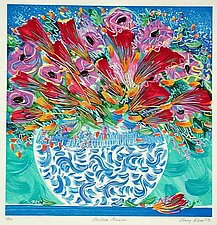 Porcelain Passions by Penny Feder (Serigraph Print)