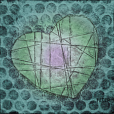Verdant Heart by Penny Feder (Giclee Print)