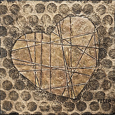 Recycled Heart by Penny Feder (Giclee Print)
