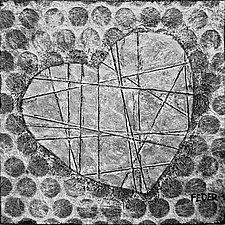 Heart Noir by Penny Feder (Giclee Print)