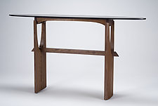 Cormorant by Eben Blaney (Wood Console Table)