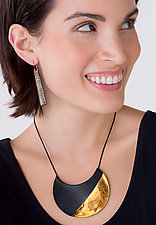 Crescent Necklace by Syra Gomez (Ceramic Necklace)