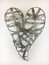 Love So Strong by Barbara Gilhooly (Metal Wall Sculpture)