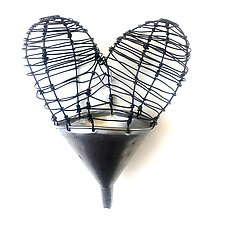 Funnel of Love I by Barbara Gilhooly (Metal Wall Sculpture)