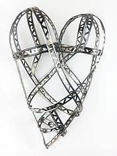 Medium Love So Strong Heart by Barbara Gilhooly (Metal Wall Sculpture)