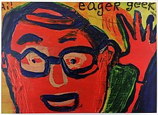 The Eager Geek by Barbara Gilhooly (Giclee Print)