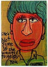 Dotty by Barbara Gilhooly (Giclee Print)