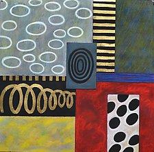 Floating by Emilia Van Nest Markovich (Pastel Painting)