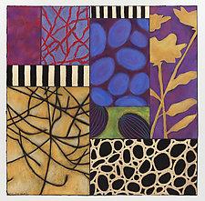 Over Stones by Emilia Van Nest Markovich (Pastel Painting)